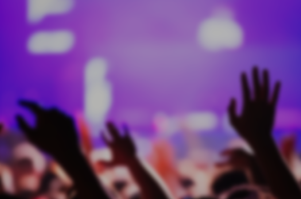 blurred concert photo